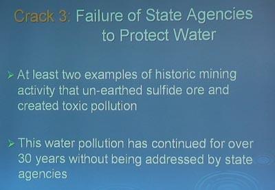 Water has not been protected by Minnesota Regulators