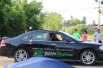 Tech Bytes car in the July 4th parade