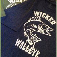 New Wicked Walleye T-Shirt size L